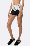 Atlantis Short - Black Stripe Blush