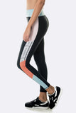 Blaze Legging - Black Blue Orange