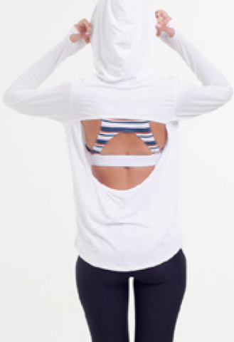 Breeze Light Hoodie - White