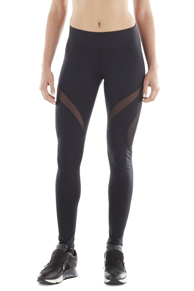 Spiral Legging - Black