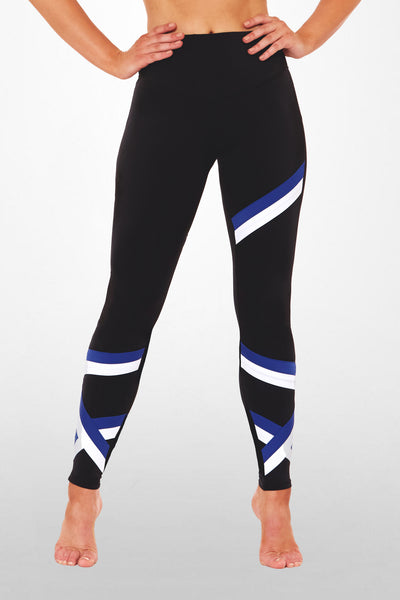 My Squardron Legging - Black / Blue
