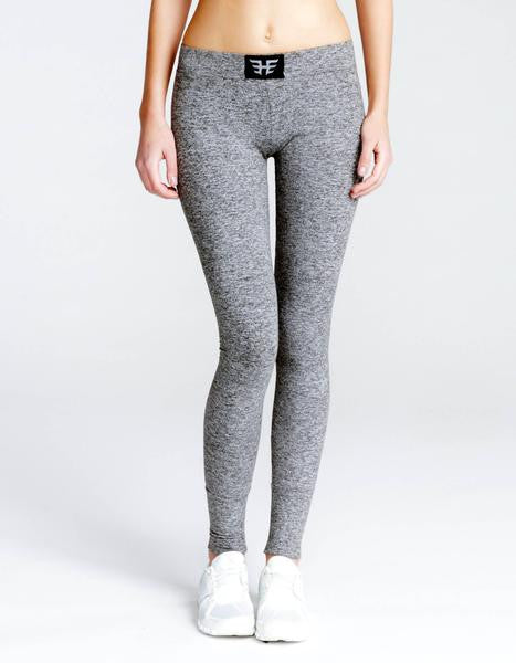Performance Legging - Heather Grey
