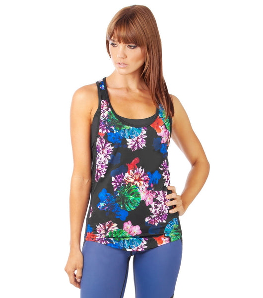 Flower Bomb Cami - Black