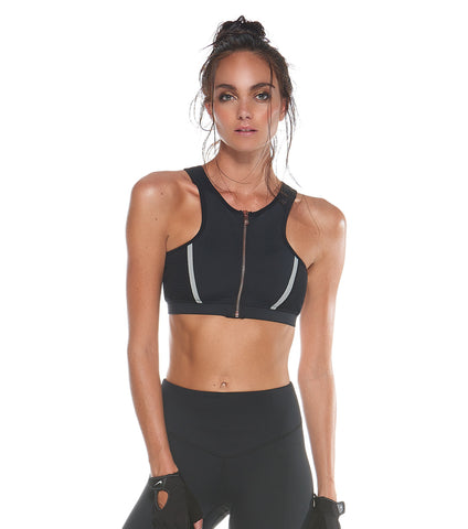 Super Nova Crop - Black
