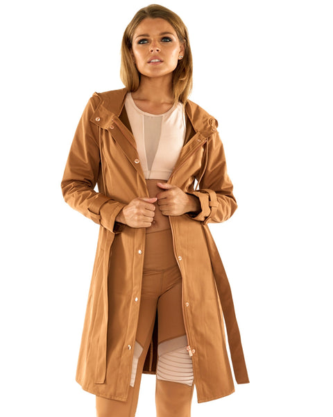 Military Chic Jacket - Tan