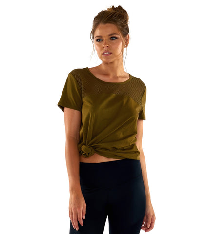 Survival Essential Tee - Olive