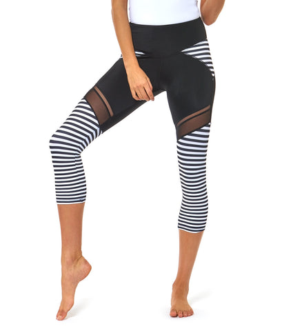 Nautical And Nice 3/4 Legging