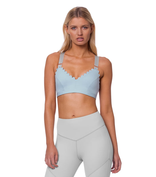 I'm On Clouds Bralette - Blue