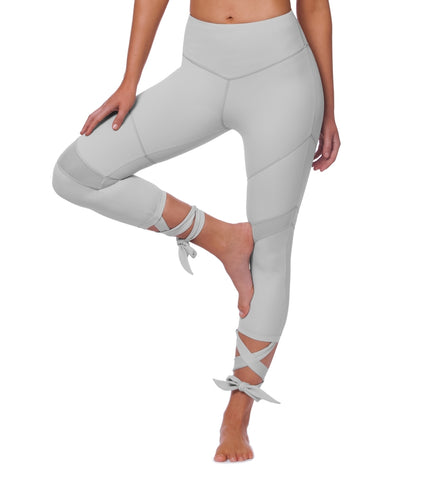 My Universe 7/8 Tie Legging - Grey