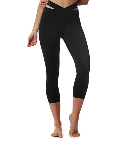 Evolution 3/4 Legging - Black
