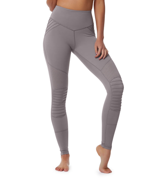 Cool Change Moto Legging - Lilac