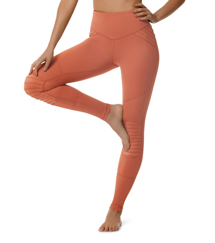 Cool Change Moto Legging - Cooper