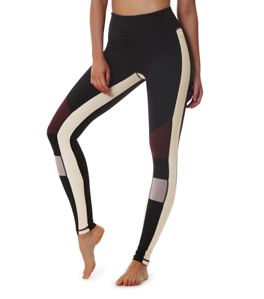 Life Adventures Legging - Black / Fig