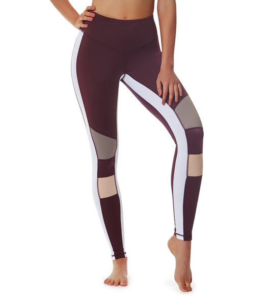 Life Adventures Legging - Fig / Blush