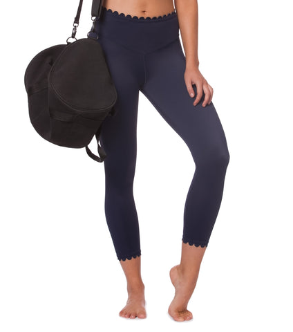 I'm On Clouds Legging - Navy