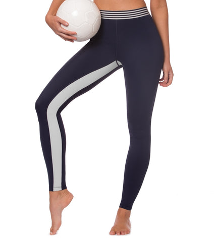 Kinetic Energy Legging - Navy