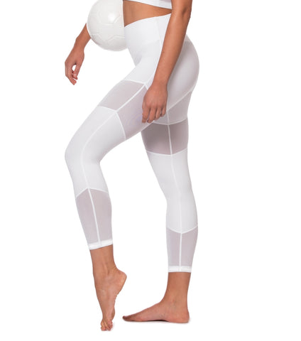 Natural Force 7/8 Legging - White