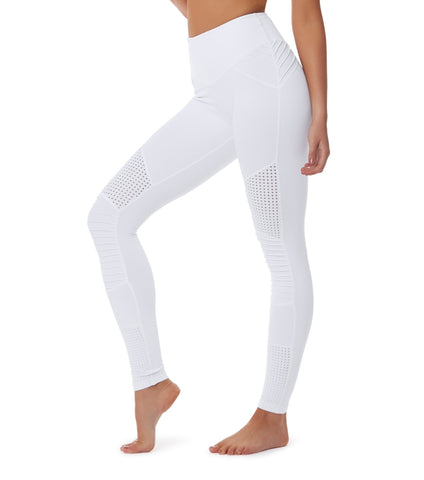 Race Ready Moto Legging - White