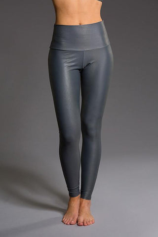 High Rise Legging - Slate Venom