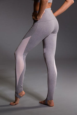 High Rise Stirrup Legging - Stone