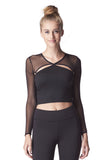 Pistol Crop Top - Black