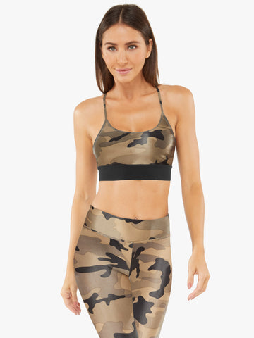 Sweeper Sports Bra Camo
