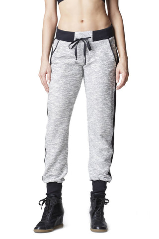 Cristallo Sweatpant - Speckled White
