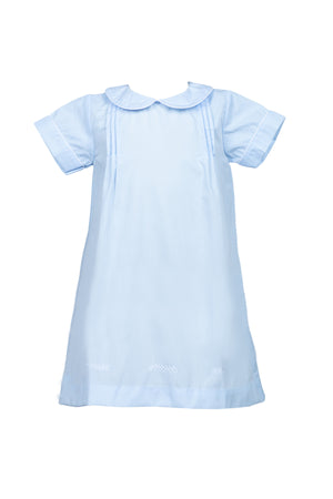 Layette Gown Blue