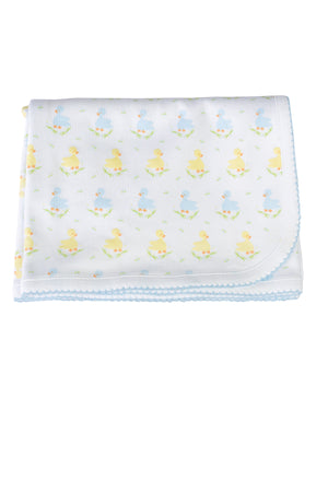 Blue Duck Receiving Blanket