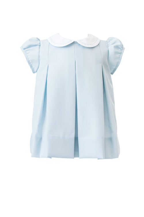 Classic Soft Blue Pleat