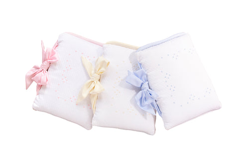 Embroidered Crib Set