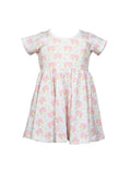 Pink Elephant / Tatum Twirl Dress