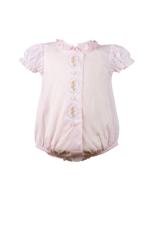 Lucille Pink Layette Bubble