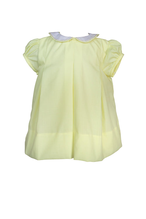 Classic Yellow Pleat