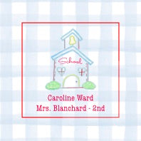 School House Personalized Stickers