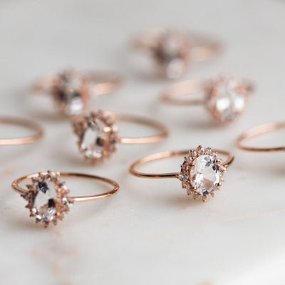 Unique Engagement Ring Shapes & Stones