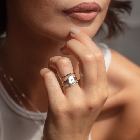 solid white gold affordable fine jewelry with diamonds
