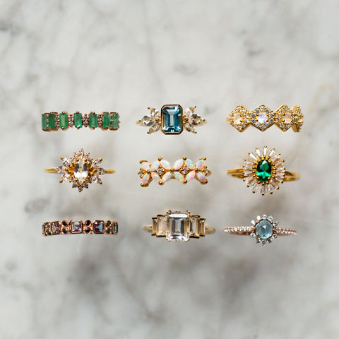 exclusive solid gold and fashion rings from La Kaiser only at Local Eclectic