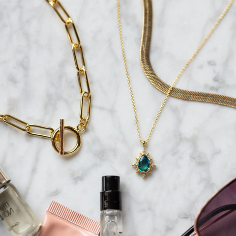 capsule jewelry collection for traveling and packing your jewelry