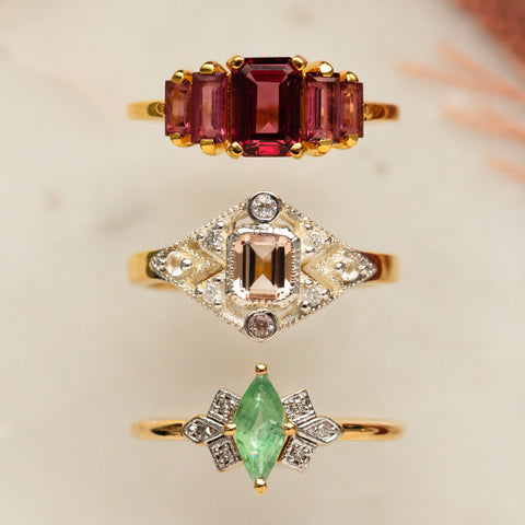 unique vintage inspired rings