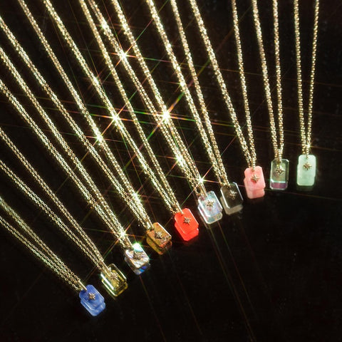 healing crystal jewelry metaphysical stone pendant necklaces