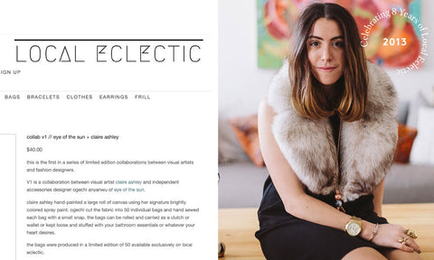Local Eclectic founder Alexis Nido-Russo