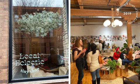 Local Eclectic first pop up shop in Chicago