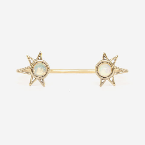 Opal Double Sun Cuff by Avrocomy