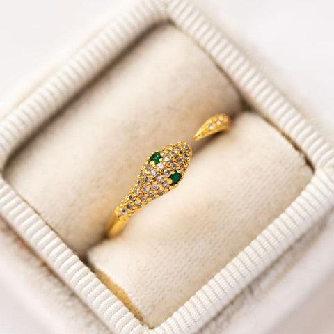 unique snake ring