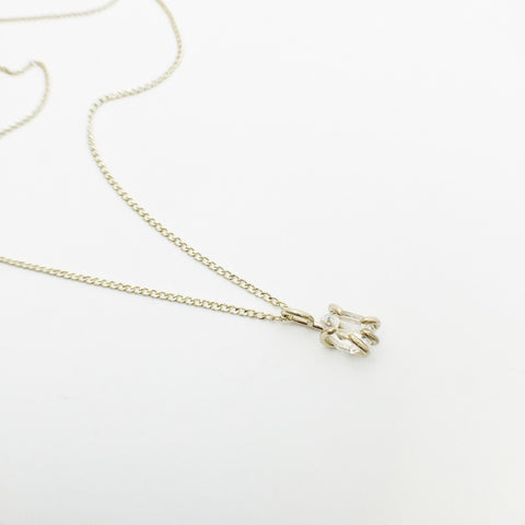Herkimer Diamond Necklace by Foe and Dear