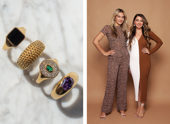 Petit Moments jewelry designers and rings