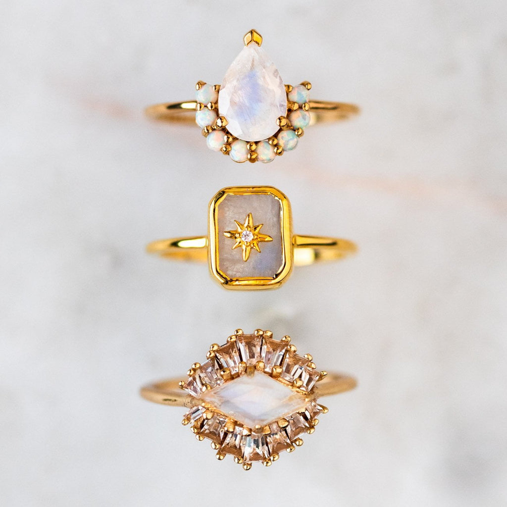Matisse Ring with Moonstone