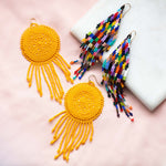 Joya Beaded Earrings in Colora
