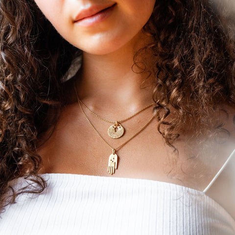 Faith Necklace in Gold